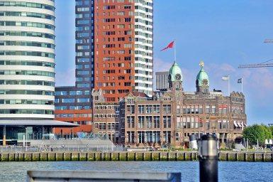 Fachada Hotel New York puerto Rotterdam