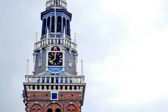 Reloj torre Waaggebouw Alkmaar