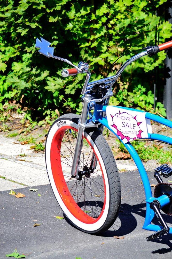 Bicicleta tuneada colores venta Vaxholm