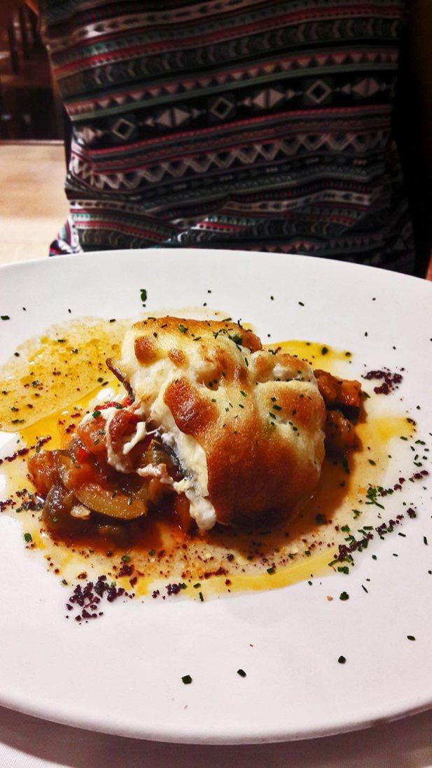Bacalao plato gourmet restaurante cocina de autor centro histórico Teruel
