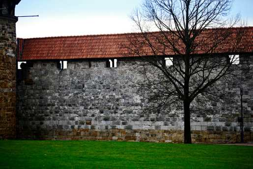 Muralla fortificada alto ciudad Esslingen Am Neckar Alemania
