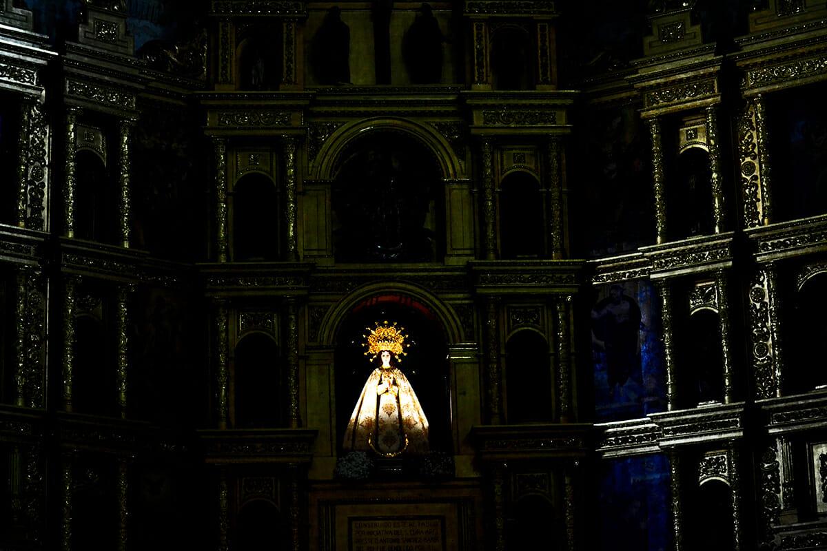 Imagen Nuestra Señora de la Asunción Iglesia centro histórico Valdepeñas Ciudad Real