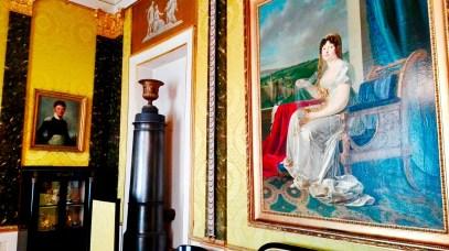 Cuadros salones interiores decoración Palacio Ludwigsburg Alemania