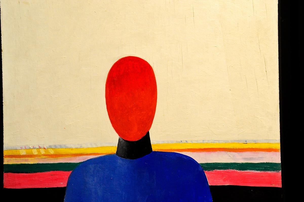 Cuadro arte abstracto contemporáneo Museo Ruso San Petesburgo Málaga imagen