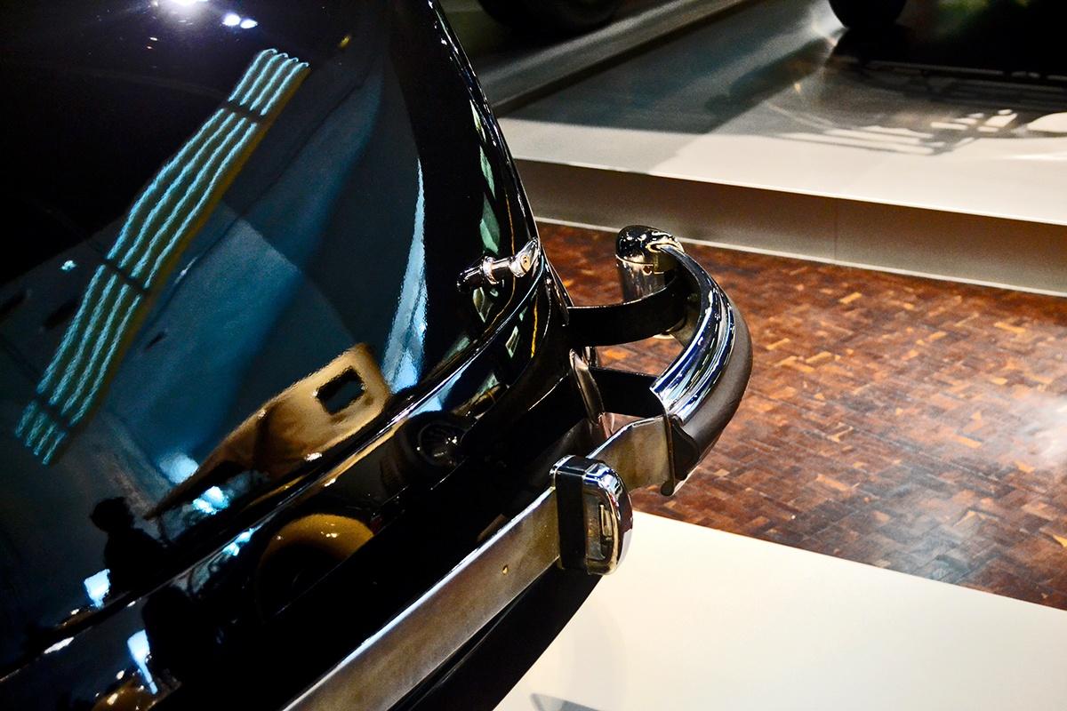 Parachoques trasero Museo Mercedes Benz Stuttgart