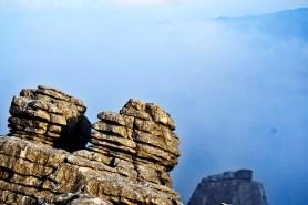 Formaciones rocosas cabezas Paraje Natural Torcal Antequera