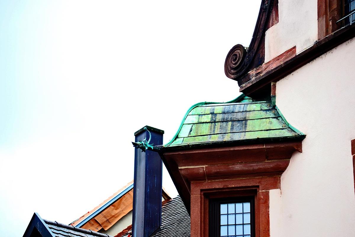 Detalles arquitectura tejados Freiburg Alemania