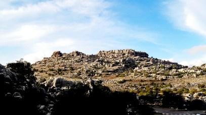 Erosiones rocas calcáreas El Torcal Málaga