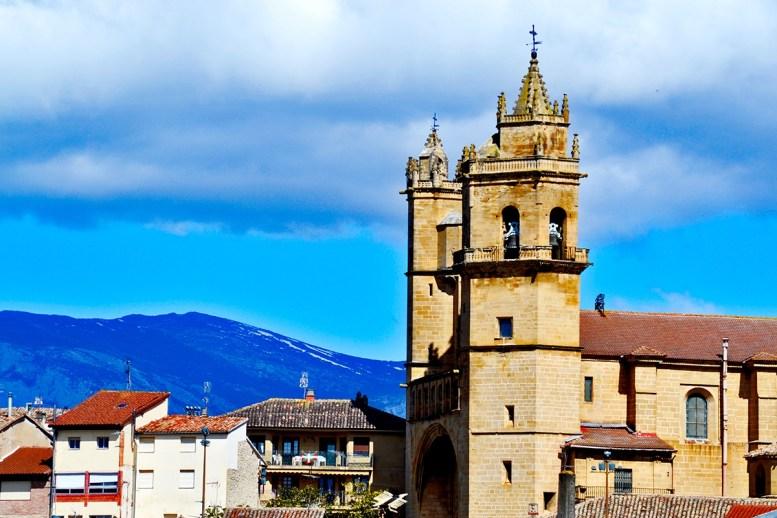 Torres campanario Iglesia San Andrés Elciego