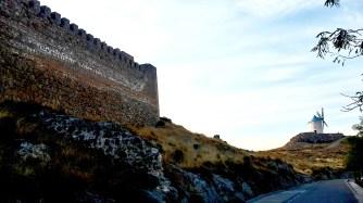 Castillo Consuegra molino panorámica