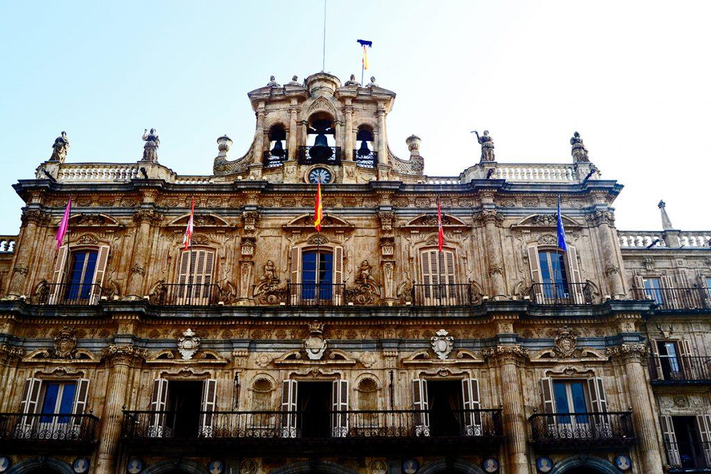 Fachada ayuntamiento Plaza Mayor Salamanca
