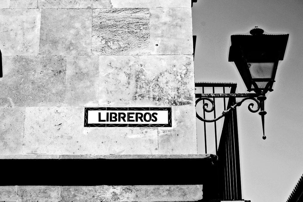 Calle Libreros Salamanca