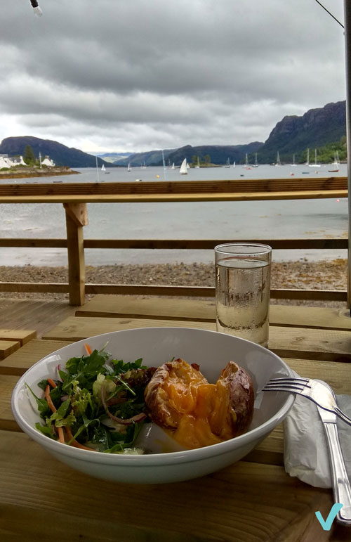 comer en Escocia