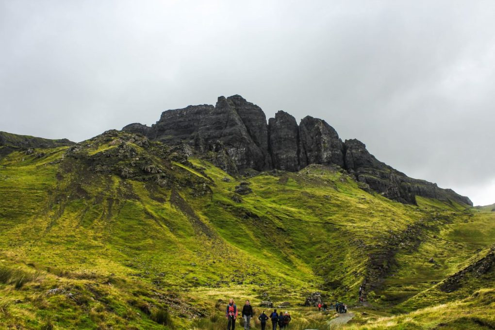 Old mand of storr