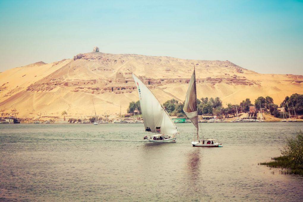 faluca Egipto