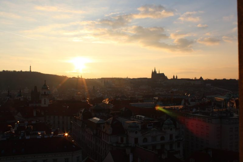 Preparativos viaje Praga