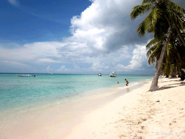 Isla Saona Canto a la Playa