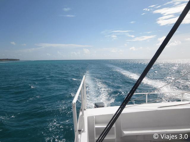Isla Saona Regreso Catamarán