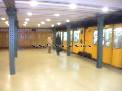 estación metro de Hõsök Tere, la más antigua