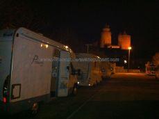 última noche de viaje; el castillo más grande de Francia, de los visitables, velará nuestro sueño