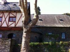 Casa de Guardia del castillo, hoy restaurante
