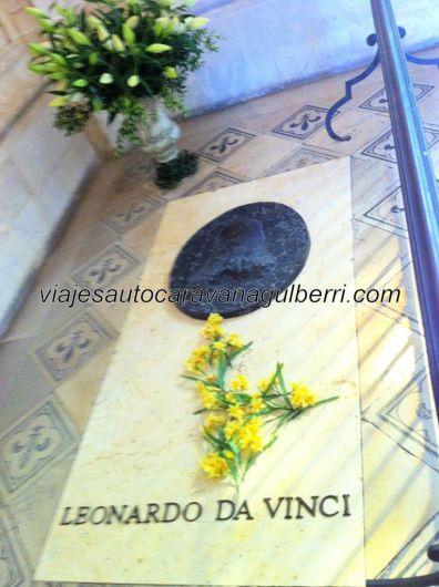 Castillos Loira - Amboise - tumba Da Vinci