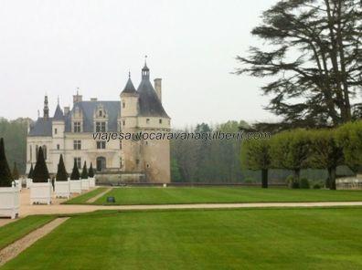 Castillos Loira - Chenonceau - jardines