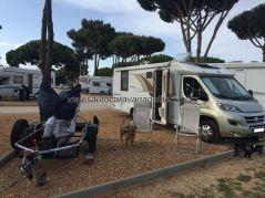 Motorhome, Praia de Falèsia, Algarve