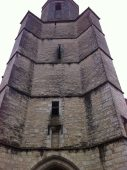 Torre Iglesia Saint Maur; diurno