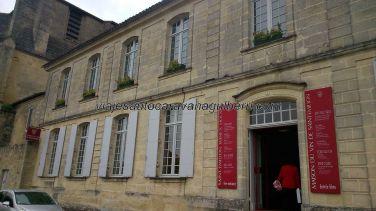 Maison du Vin: museo, degustación, olores para desafiar olfatos, y venta de vino