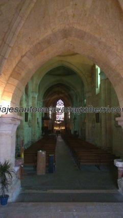 Colegiata de Saint Emilion, nave principal