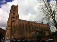 Catedral de Santa Cecilia, máximo exponente de Albi, y principal referencia turística