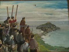 romería en homenaje a los arrantzales naufragados