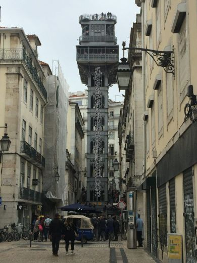 Mirador Santa Justa, Lisboa