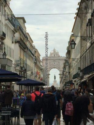 calle comercial Augusta, Lisboa