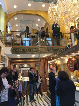bacalao y vinho Madeira, Lisboa