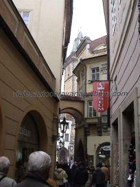 Pasaje Melantrichova a la Plaza de la Ciudad Vieja