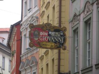 Teatro de Marionetas en calle Karlova