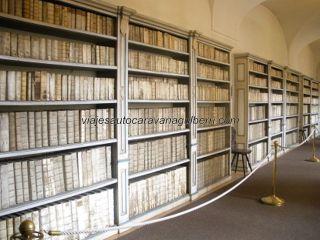 biblioteca en Monasterio Strahov