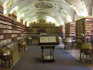 Sala Teológica en Monasterio Strahov
