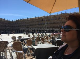 descanso y refrigerio en Plaza Mayor
