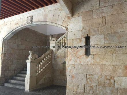escalinata interior Casa de las Conchas