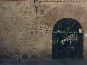 acceso al Huerto Calixto y Melibea