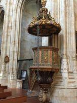 púlpito iglesia Convento San Esteban