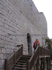 acceso fortaleza Montségur