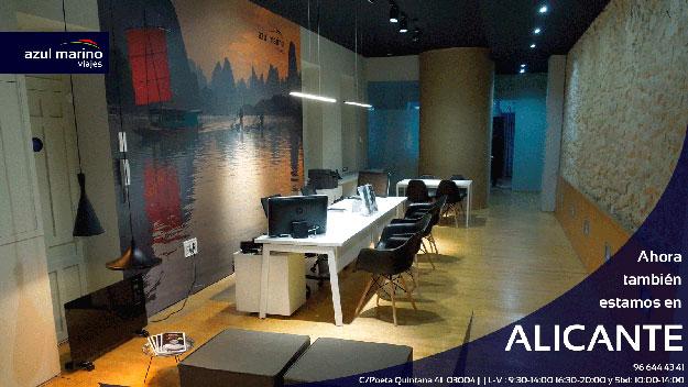 Inauguramos oficina en alicante azul marino viajes for Oficinas seur alicante