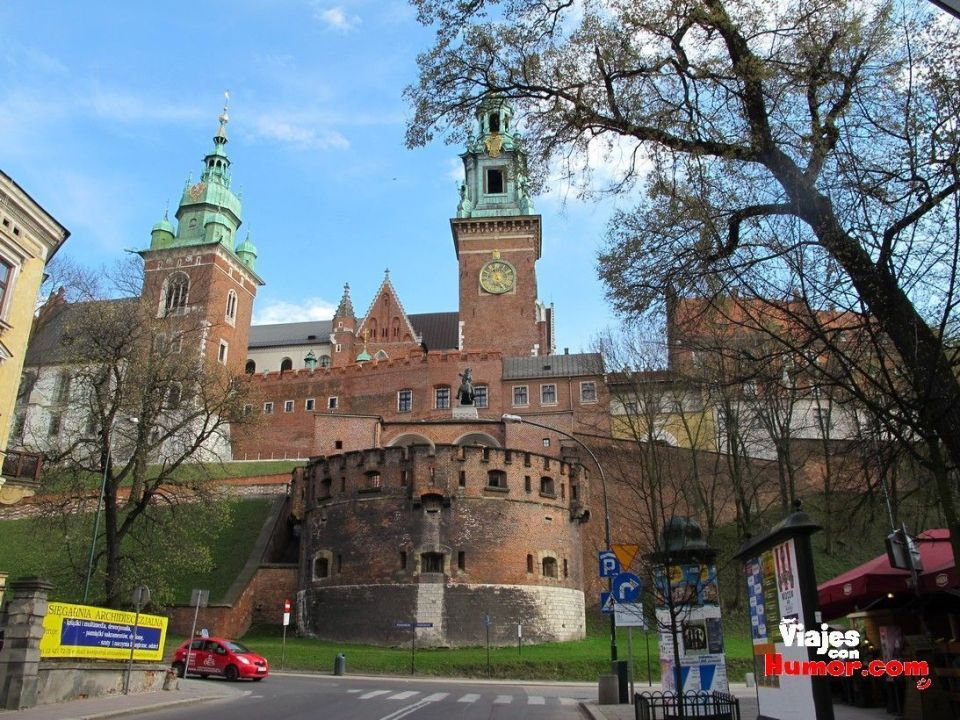 castillo real de wawel cracovia