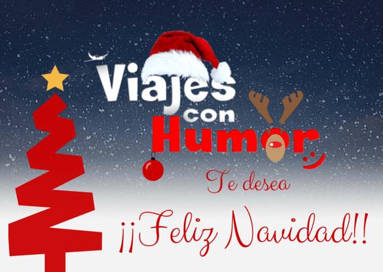 Viajes con Humor os desea Feliz Navidad