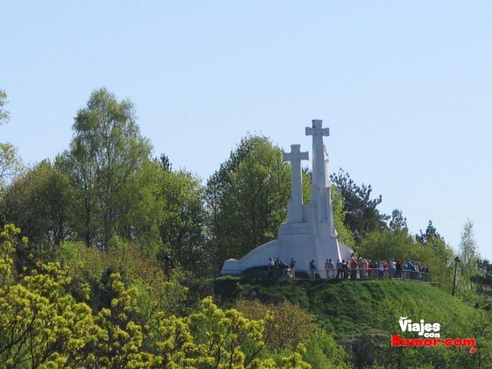 la colina de las tres cruces vilna lituania