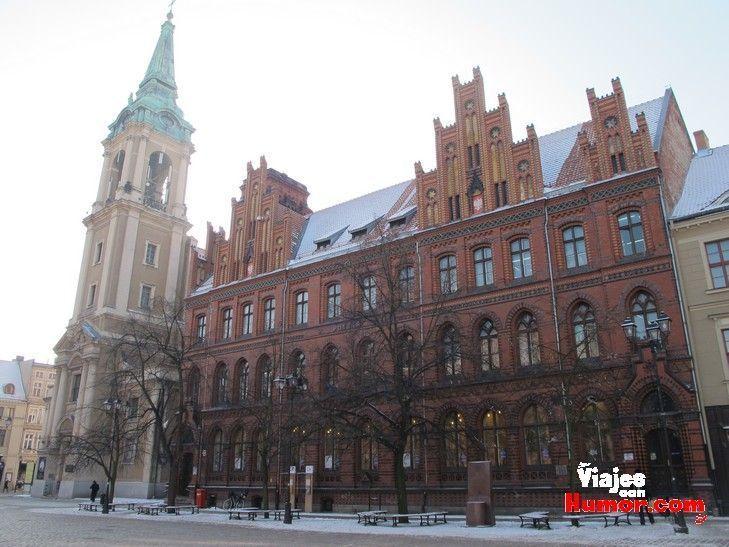 iglesia del espiritu santo torun polonia
